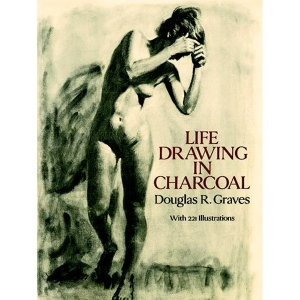 Natural Pigments Life Drawing in Charcoal