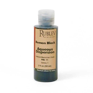 Natural Pigments Natural Black Oxide 2 fl oz - Color: Black