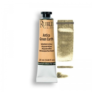 Natural Pigments Antica Green Earth 15ml - Color: Green