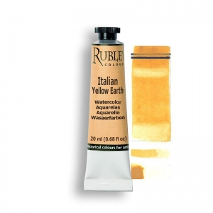 Natural Pigments Italian Yellow Earth 15ml - Color: Yellow