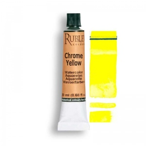 Natural Pigments Chrome Yellow Primrose 15ml - Color: Yellow