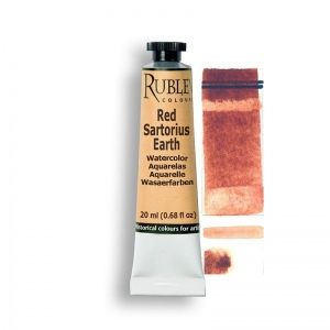 Natural Pigments Red Sartorius Earth 15ml - Color: Red