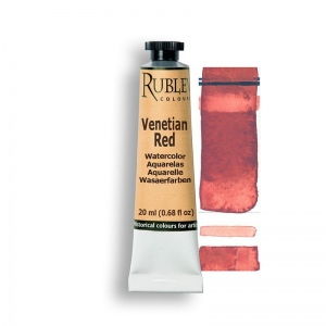Natural Pigments Ercolano Red 15ml - Color: Red