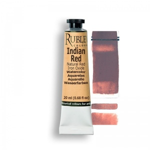Natural Pigments Indian Red 15ml - Color: Red