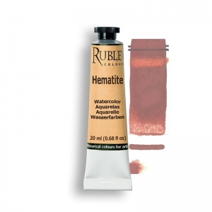 Natural Pigments Hematite 15ml - Color: Red