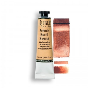 Natural Pigments French Burnt Sienna 15ml - Color: Reddish Brown