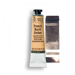 French Burnt Umber Watercolor Paint