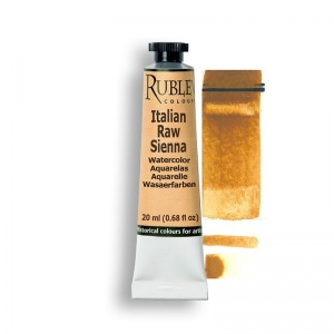 Natural Pigments Italian Raw Sienna 15ml - Color: Brown