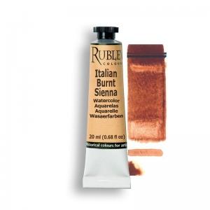 Natural Pigments Italian Burnt Sienna 15ml - Color: Brown