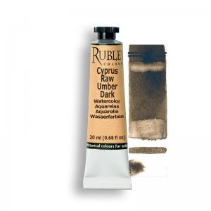 Natural Pigments Cyprus Raw Umber Dark 15ml - Color: Brown