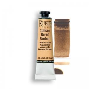 Natural Pigments Italian Burnt Umber 15ml - Color: Brown