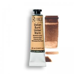 Natural Pigments Italian Burnt Umber Warm 15ml - Color: Brown