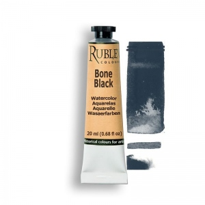 Natural Pigments Bone Black 15ml - Color: Black