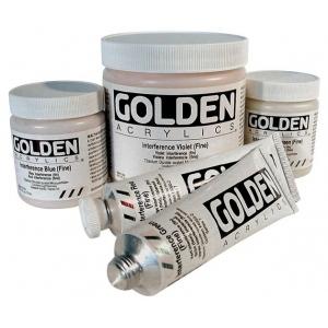 Golden® Heavy Body Acrylic 2 oz. Interference Blue (fine): Blue, Tube, 2 oz, 60 ml, Acrylic, (model 0004030-2), price per tube