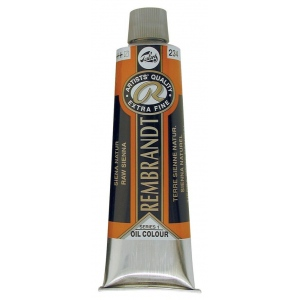Royal Talens Rembrandt® Artists' Oil Color 150ml Raw Sienna; Color: Brown; Format: Tube; Size: 150 ml; Type: Oil; (model 1072342), price per tube