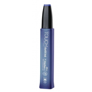 ShinHan Art TOUCH Indian Blue Ink Refill; Color: Blue; Format: Bottle; Ink Type: Alcohol-Based; Refill: Yes; Size: 20 ml; (model 1410064-B64), price per each