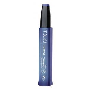 ShinHan Art TOUCH Frost Blue Ink Refill: Blue, Bottle, Alcohol-Based, Refill, 20 ml, (model 1410182-B182), price per each