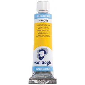 Royal Talens van Gogh® Watercolor 10ml Azo Yellow Medium; Color: Yellow; Format: Tube; Size: 10 ml; Type: Watercolor; (model 20012690), price per tube