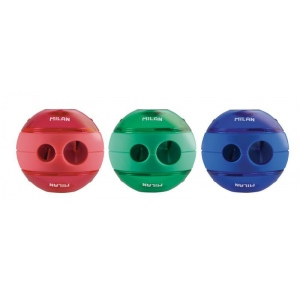 Milan® Sphere Sharpener Display: Assorted, Two, Plastic, Manual, (model 20156212D), price per each