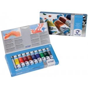 Royal Talens van Gogh® Watercolor 10-Color Set: Multi, Tube, 10 ml, Watercolor, (model 20820110), price per each