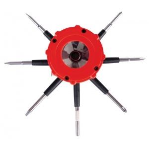 Reeko 10 in 1 Multi-Tool with Dual LED Lights: General Purpose, Tool, (model 21031-0), price per each