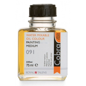 Royal Talens Cobra® Painting Medium 75ml; Size: 75 ml; Type: Oil Painting; (model 24281091), price per each