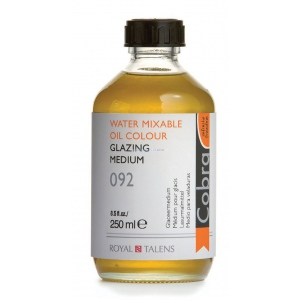 Royal Talens Cobra® Glazing Medium 250ml; Size: 250 ml; Type: Oil Glaze; (model 24301092), price per each
