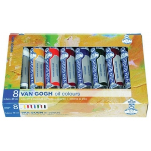 Royal Talens van Gogh® Oil Color Gift Set; Color: Multi; Format: Tube; Size: 20 ml; Type: Oil; (model 2820508), price per set