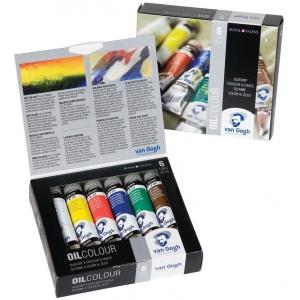 Royal Talens van Gogh® Oil 6-Color Set; Color: Multi; Format: Tube; Size: 20 ml; Type: Oil; (model 2821406), price per set