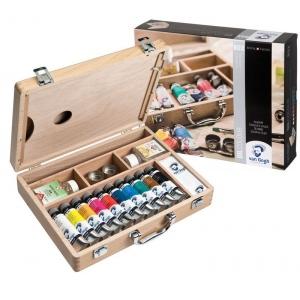 Royal Talens van Gogh® Oil Color Basic Box Set: Multi, Tube, 40 ml, Oil, (model 2840510), price per set