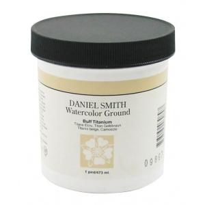 Daniel Smith Watercolor Ground 16oz Buff Titanium; Color: Brown; Format: Jar; Size: 16 oz; Type: Watercolor; (model 284055003), price per each