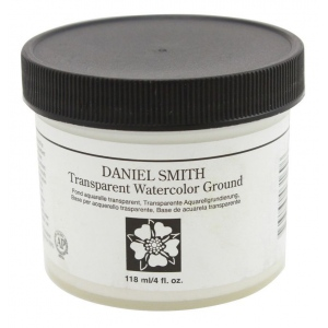 Daniel Smith Watercolor Ground 4oz Transparent; Color: Clear; Format: Jar; Size: 4 oz; Type: Watercolor; (model 284055011), price per each