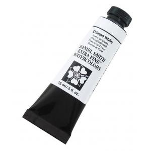 Daniel Smith Extra Fine™ Watercolor 15ml Chinese White: White/Ivory, Tube, 15 ml, Watercolor, (model 284600023), price per tube