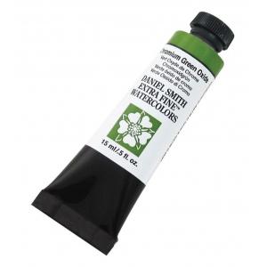 Daniel Smith Extra Fine™ Watercolor 15ml Chromium Green Oxide: Green, Tube, 15 ml, Watercolor, (model 284600024), price per tube