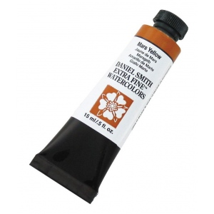 Daniel Smith Extra Fine™ Watercolor 15ml Mars Yellow; Color: Yellow; Format: Tube; Size: 15 ml; Type: Watercolor; (model 284600054), price per tube