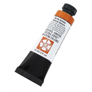 Daniel Smith Extra Fine™ Watercolor 15ml Monte Amiata Natural Sienna: Yellow, Tube, 15 ml, Watercolor, (model 284600056), price per tube