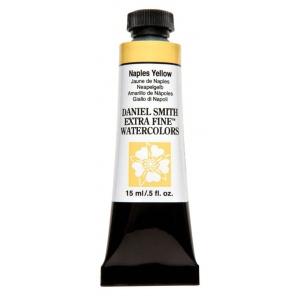Daniel Smith Extra Fine™ Watercolor 15ml Naples Yellow; Color: Yellow; Format: Tube; Size: 15 ml; Type: Watercolor; (model 284600058), price per tube