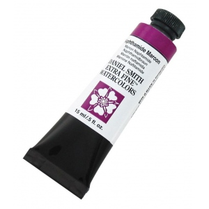 Daniel Smith Extra Fine™ Watercolor 15ml Naphthamide Maroon: Red/Pink, Tube, 15 ml, Watercolor, (model 284600059), price per tube