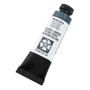 Daniel Smith Extra Fine™ Watercolor 15ml Payne's Gray; Color: Black/Gray; Format: Tube; Size: 15 ml; Type: Watercolor; (model 284600065), price per tube