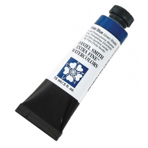 Daniel Smith Extra Fine™ Watercolor 15ml Phthalo Blue GS; Color: Blue; Format: Tube; Size: 15 ml; Type: Watercolor; (model 284600077), price per tube
