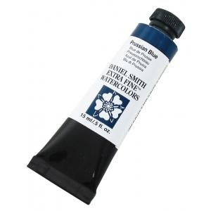 Daniel Smith Extra Fine™ Watercolor 15ml Prussian Blue: Blue, Tube, 15 ml, Watercolor, (model 284600082), price per tube
