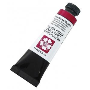 Daniel Smith Extra Fine™ Watercolor 15ml Quinacridone Magenta; Color: Red/Pink; Format: Tube; Size: 15 ml; Type: Watercolor; (model 284600090), price per tube
