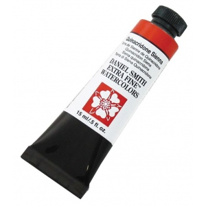 Daniel Smith Extra Fine™ Watercolor 15ml Quinacridone Sienna; Color: Brown; Format: Tube; Size: 15 ml; Type: Watercolor; (model 284600093), price per tube