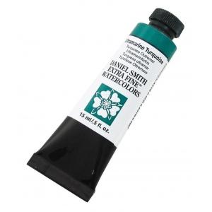 Daniel Smith Extra Fine™ Watercolor 15ml Ultramarine Turquoise; Color: Blue; Format: Tube; Size: 15 ml; Type: Watercolor; (model 284600105), price per tube