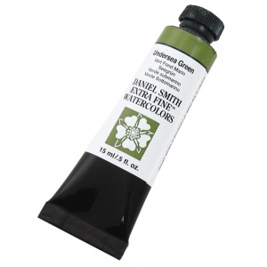 Daniel Smith Extra Fine™ Watercolor 15ml Undersea Green: Green, Tube, 15 ml, Watercolor, (model 284600109), price per tube