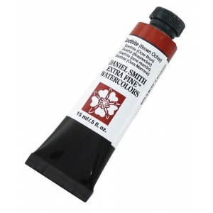 Daniel Smith Extra Fine™ Watercolor 15ml Goethite Brown Ochre; Color: Yellow; Format: Tube; Size: 15 ml; Type: Watercolor; (model 284600144), price per tube