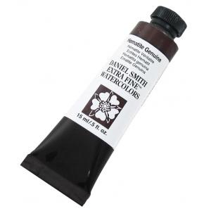 Daniel Smith Extra Fine™ Watercolor 15ml Hematite Genuine; Color: Brown; Format: Tube; Size: 15 ml; Type: Watercolor; (model 284600156), price per tube