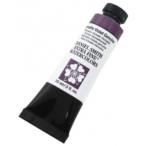Daniel Smith Extra Fine™ Watercolor 15ml Hematite Violet Genuine: Purple, Tube, 15 ml, Watercolor, (model 284600157), price per tube