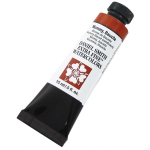 Daniel Smith Extra Fine™ Watercolor 15ml Mummy Bauxite; Color: Brown; Format: Tube; Size: 15 ml; Type: Watercolor; (model 284600166), price per tube