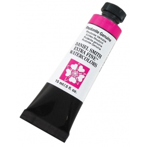 Daniel Smith Extra Fine™ Watercolor 15ml Rhodonite Genuine; Color: Red/Pink; Format: Tube; Size: 15 ml; Type: Watercolor; (model 284600167), price per tube